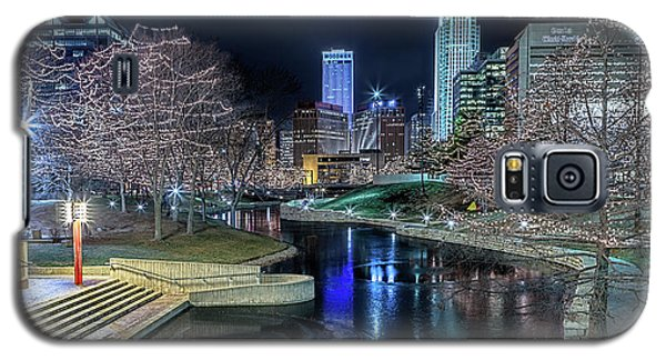 Omaha Holiday Lights Festival Galaxy S5 Case