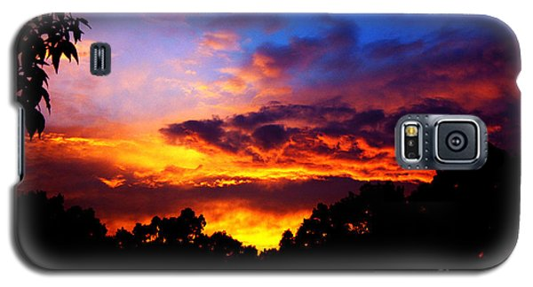 Ominous Sunset Galaxy S5 Case
