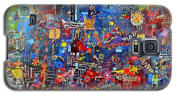 On A Chip Galaxy S5 Case by Regina Valluzzi