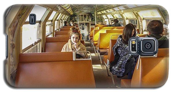 On A Train Galaxy S5 Case