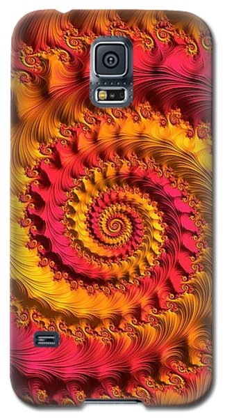On Being Bold And Beautiful Galaxy S5 Case by Susan Maxwell Schmidt