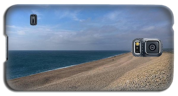 On Chesil Beach Galaxy S5 Case by Anne Kotan