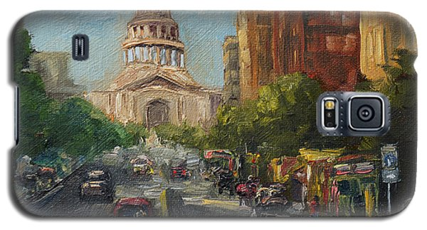 On Congress Galaxy S5 Case by Lisa  Spencer