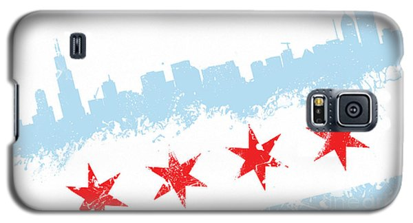 Chicago Flag Lean Galaxy S5 Case