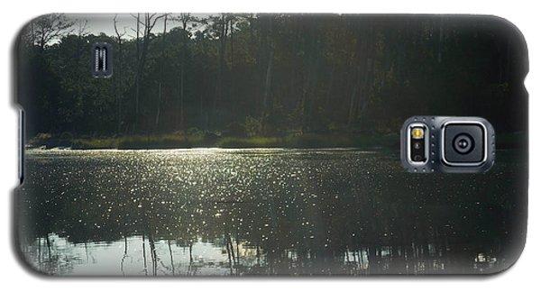On Golden Bay Galaxy S5 Case