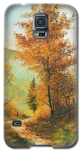 On My Way Home Galaxy S5 Case by Sorin Apostolescu