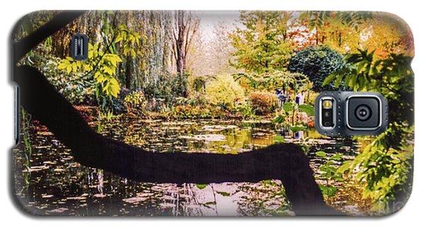 On Oscar - Claude Monet's Garden Pond  Galaxy S5 Case