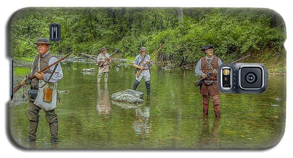 On Patrol With Wulff's Rangers Junita Crossing Galaxy S5 Case by Randy Steele