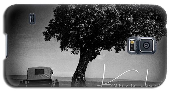 Galaxy S5 Case featuring the photograph On Safari by Karen Lewis