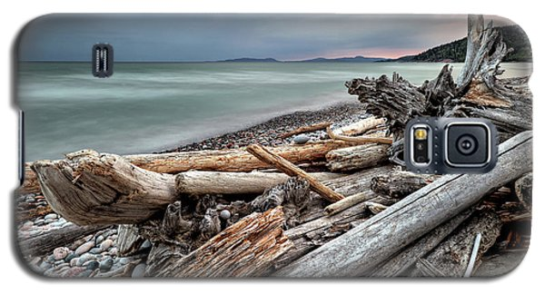 On The Beach Galaxy S5 Case