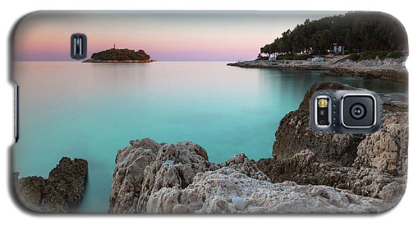 On The Beach In Dawn Galaxy S5 Case