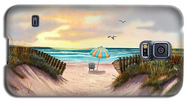 On The Beach Galaxy S5 Case by Sena Wilson