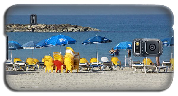 On The Beach-tel Aviv Galaxy S5 Case