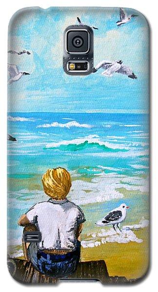 On The Boardwalk Galaxy S5 Case