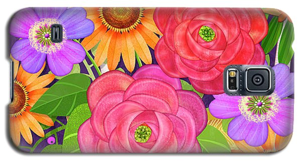 On The Bright Side - Flowers Of Faith Galaxy S5 Case