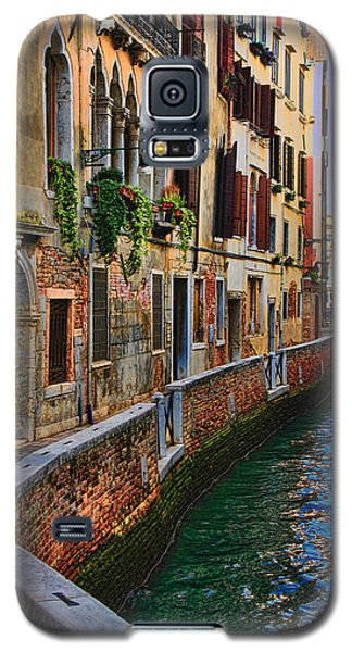On The Canal-venice Galaxy S5 Case
