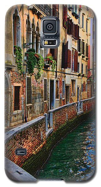 On The Canal-venice Galaxy S5 Case by Tom Prendergast