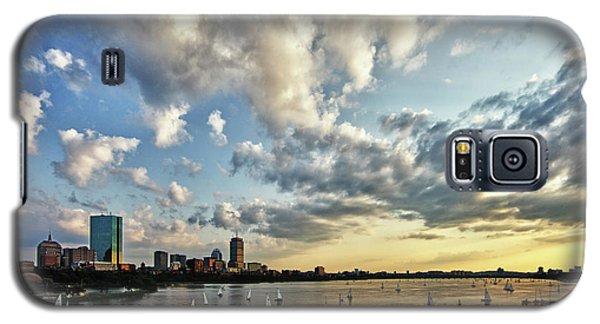Hancock Building Galaxy S5 Case - On The Charles II by Rick Berk