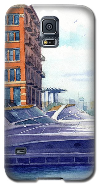 On The Docks Galaxy S5 Case