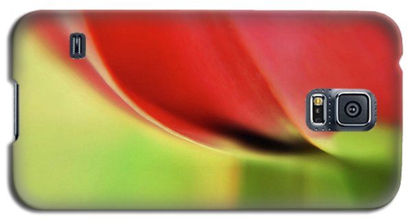 Galaxy S5 Case featuring the photograph  Tulip's  Edge by Elaine Manley
