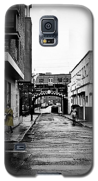 The Rail And The Green Raincoat Galaxy S5 Case