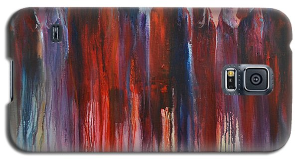 Galaxy S5 Case featuring the painting On The Horizon by Cher Devereaux
