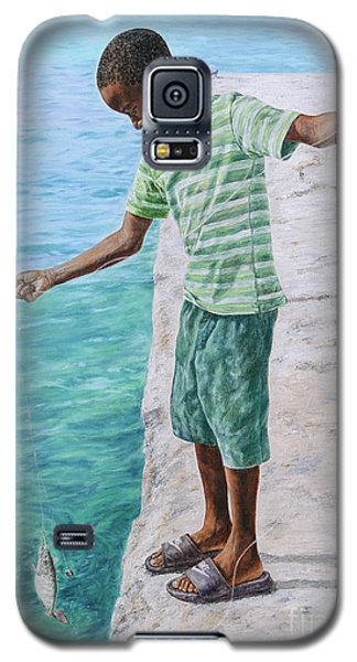 On The Line Galaxy S5 Case