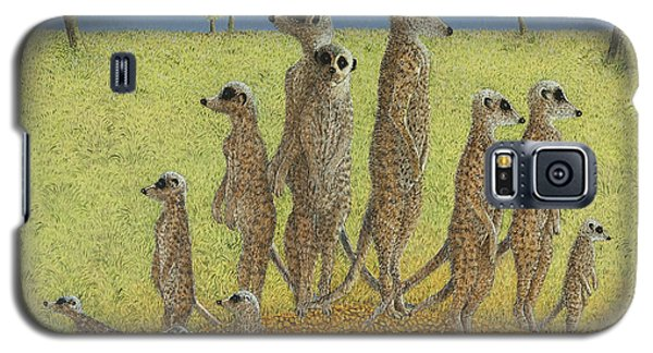 Meerkat Galaxy S5 Case - On The Lookout by Pat Scott