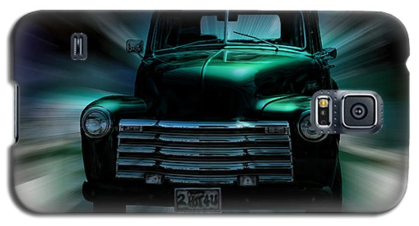 On The Move Truck Art Galaxy S5 Case