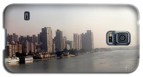 Galaxy S5 Case featuring the photograph On The Nile River by Jason Sentuf