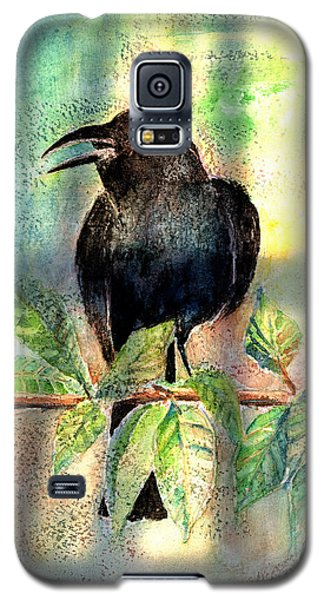 Blackbird Galaxy S5 Case - On The Outside Looking In by Arline Wagner