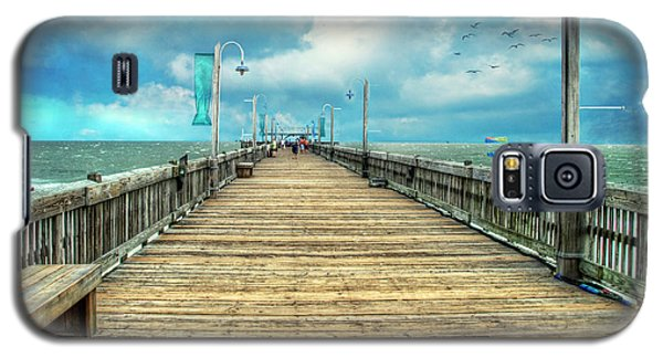 On The Pier At Tybee Galaxy S5 Case
