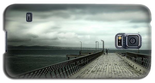 Galaxy S5 Case featuring the photograph On The Pier by Perry Webster