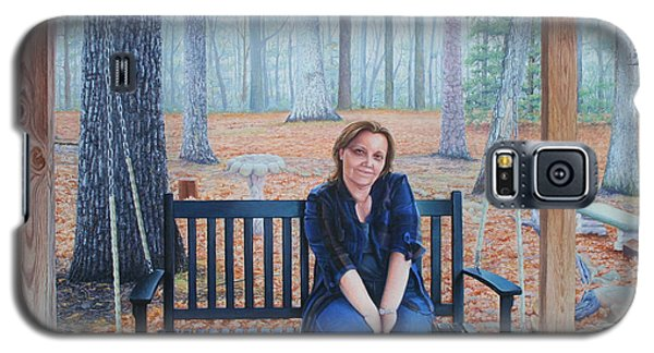 On The Porch Swing Galaxy S5 Case by Mike Ivey
