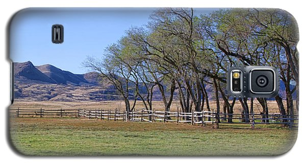 Galaxy S5 Case featuring the photograph On The Ranch by Ely Arsha