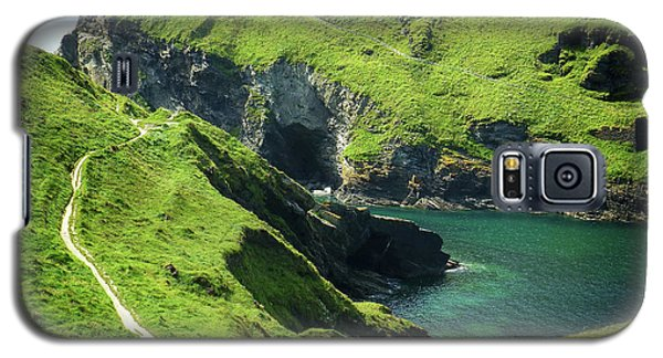 Galaxy S5 Case featuring the photograph On The Road To Tintagel by Connie Handscomb