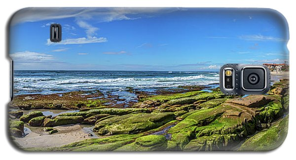 Galaxy S5 Case featuring the photograph On The Rocky Coast by Peter Tellone