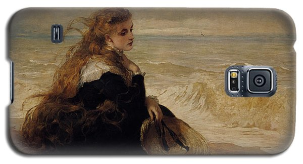 On The Seashore Galaxy S5 Case by George Elgar Hicks