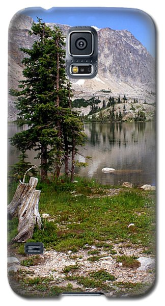 On The Snowy Mountain Loop Galaxy S5 Case