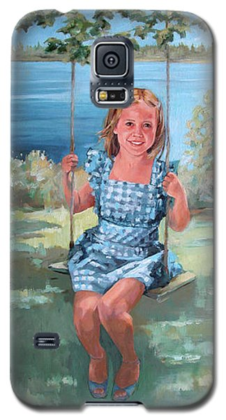 On The Swing Galaxy S5 Case