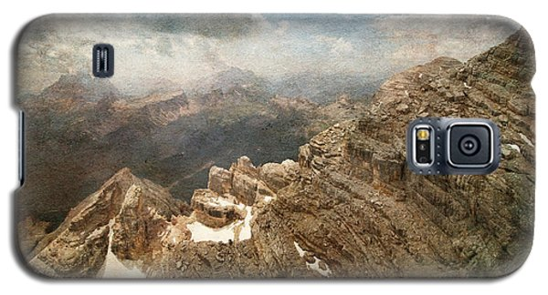 On The Top Of The Mountain  Galaxy S5 Case