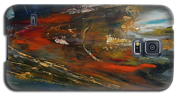 Galaxy S5 Case featuring the digital art On The Way by John Hansen