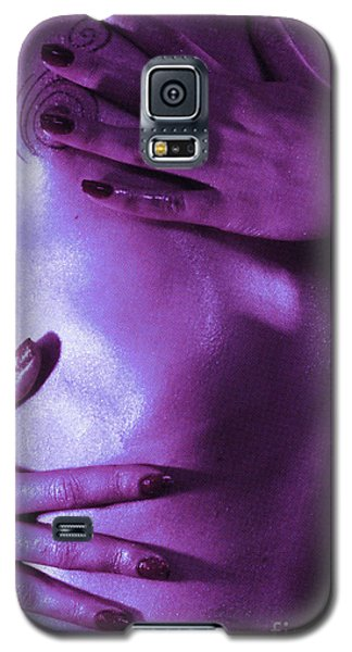 On Tv Galaxy S5 Case by Robert WK Clark