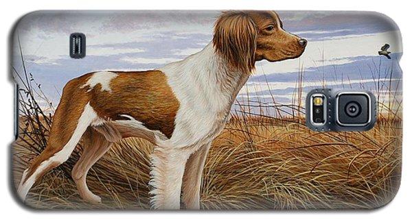 On Watch - Brittany Spaniel Galaxy S5 Case