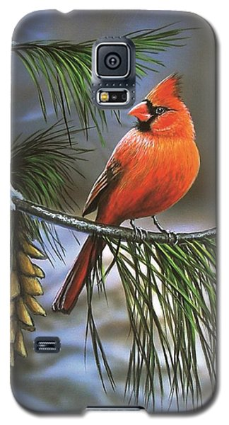 On Watch - Cardinal Galaxy S5 Case