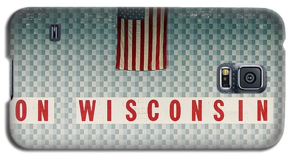 On Wisconsin  Galaxy S5 Case