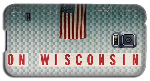 On Wisconsin  Galaxy S5 Case