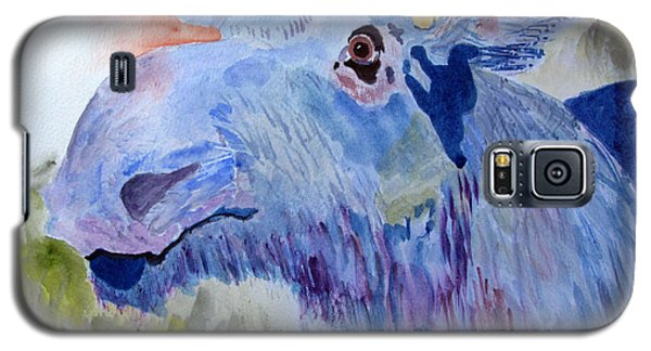 Once In A Blue Moose Galaxy S5 Case by Sandy McIntire