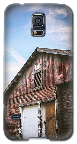 Galaxy S5 Case featuring the photograph Once Industrial - Series 1 by Trish Mistric