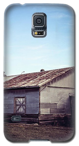 Galaxy S5 Case featuring the photograph Once Industrial - Series 2 by Trish Mistric